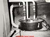 Pictures of Residential Sewage Pump Maintenance