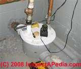 Pictures of Sewage Pump Vent Pipe
