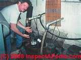 Images of Effluent Pump Repair